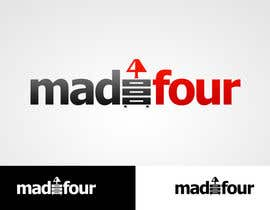 #287 for Logo Design for madefour af MladenDjukic