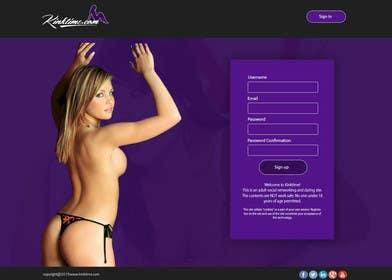 ankisethiya tarafından Design a Website Mockup for http://www.kinktime.com için no 11