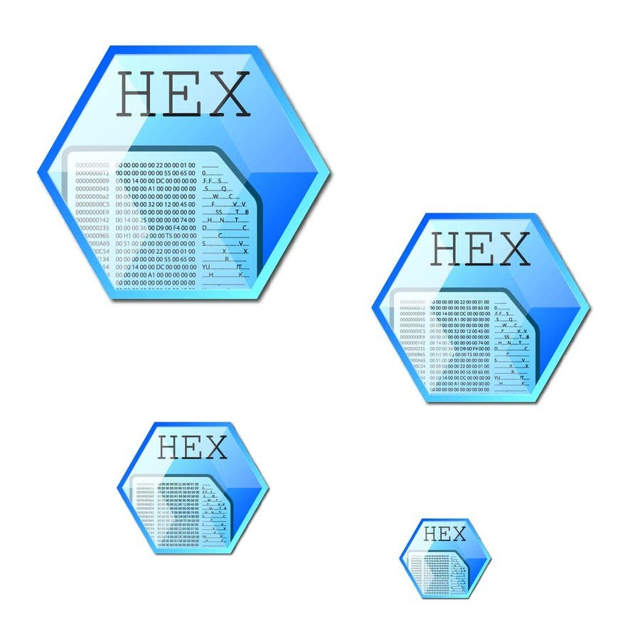 #20 for Design some Icons for a hex editor application by hammad143