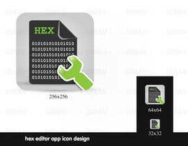 #9 untuk Design some Icons for a hex editor application oleh dirav