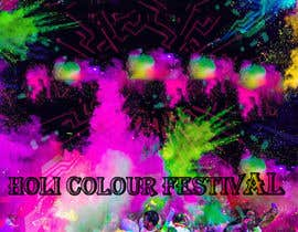 #9 cho Design eines Banners for Holi-Colour Festival night edition bởi sanaakram161