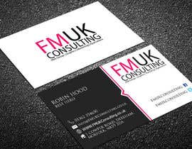 #45 untuk Design a leaflet and business card for FMUK Consulting oleh Robinhosen23