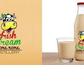 #1004 untuk Design a logo and bottle label for Hong Kong Distillery Irish cream oleh taraskhlian