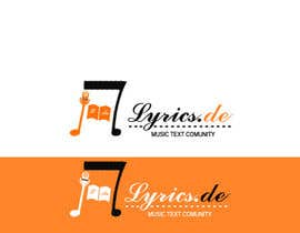 Dckhan tarafından design a logo for the music text comunity lyrics.de için no 17