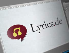 #19 untuk design a logo for the music text comunity lyrics.de oleh samraabdul