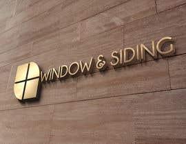 #18 untuk Design a Logo for Window and siding company oleh razvanpintilie