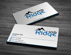#8 untuk Design some Business Cards for Ridge Web oleh anikush