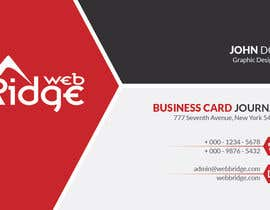 #18 untuk Design some Business Cards for Ridge Web oleh ahmedmhamdi97
