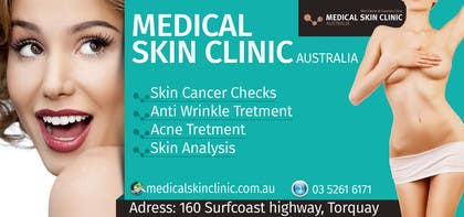 #3 untuk Design an Advertisement for a skin cancer and cosmetic clinic oleh sameer6292