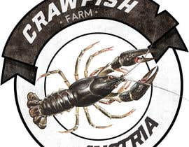 fb54f0062620e2b tarafından Design Logo for a crawfish farm in Austria için no 15