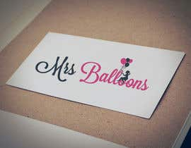 "#109 untuk Design a Logo for my business ""MRS BALLOONS"" oleh anatomicana"