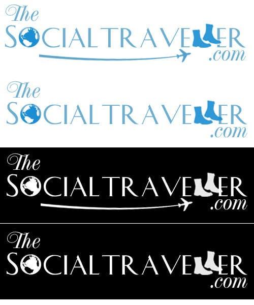 Zgłoszenie konkursowe o numerze #175 do konkursu o nazwie Logo Design for TheSocialTraveller.com