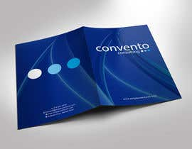 #13 for A4 promotional folder design a management consulting company. by gohardecent