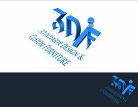 #11 untuk Design a Logo for 3D Interior Design & Custom Furniture company oleh edso0007