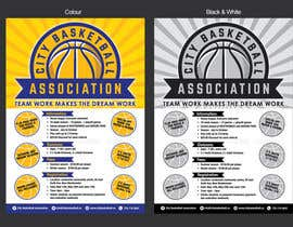 #5 untuk Design a Flyer for Basketball League oleh MMmahesh