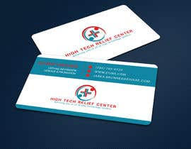 #46 untuk Design some Business Cards for High Tech Relief Center oleh ALLHAJJ17