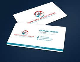 #49 untuk Design some Business Cards for High Tech Relief Center oleh ALLHAJJ17