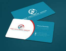 #54 untuk Design some Business Cards for High Tech Relief Center oleh ALLHAJJ17
