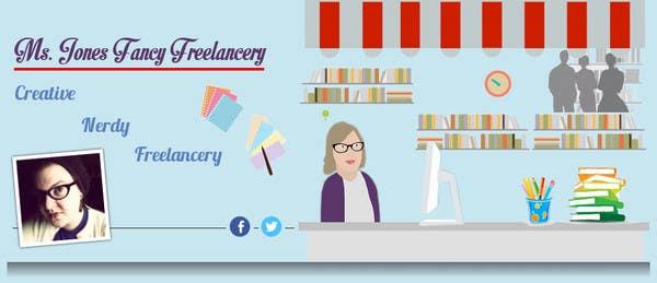 #2 for Design a Header / Banner for Freelance Writer Website by vigneshhc