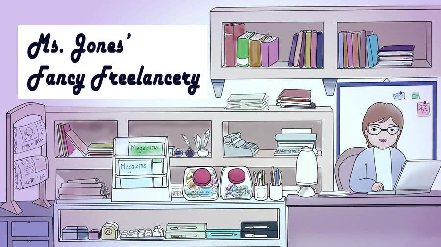 #7 for Design a Header / Banner for Freelance Writer Website by wulanike