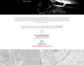 unguryanu tarafından Design a Website Mockup for a car website için no 5