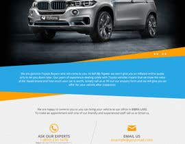 #16 untuk Design a Website Mockup for a car website oleh unguryanu