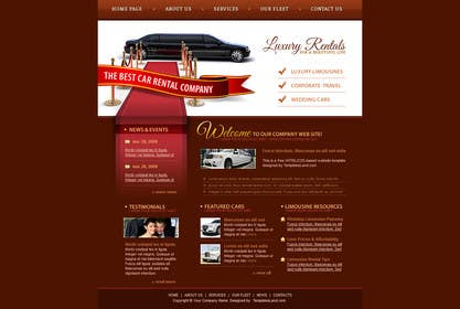 #21 untuk Design a Website Mockup for a car website oleh elaashik