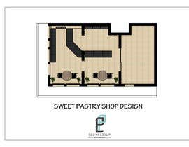 #7 untuk Interior modern design for a sweet/pastry shop oleh eggypesela