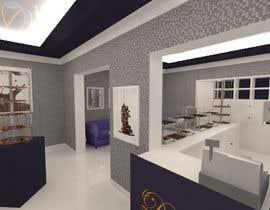 #29 untuk Interior modern design for a sweet/pastry shop oleh cecioconor