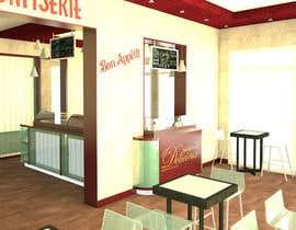 biodomo tarafından Interior modern design for a sweet/pastry shop için no 28