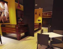#8 untuk Interior modern design for a sweet/pastry shop oleh perpetualmaxon