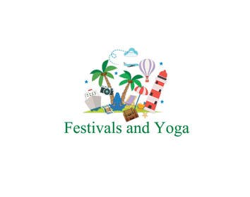 DQD tarafından Design a Logo for festival and yoga related tourism website için no 17