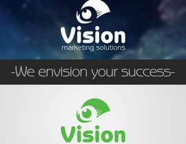 #10 untuk Design a Logo for Vision Marketing Solutions oleh ArtDesigning
