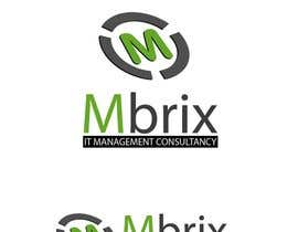 hammad143 tarafından Design a logo for Mbrix IT management consultancy için no 113