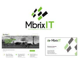 #32 para Design a logo for Mbrix IT management consultancy por rafaelolz