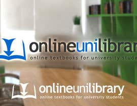 #168 para Logo Design for Online textbooks for university students por bjandres