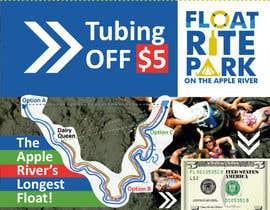 #12 untuk Design Simple $5 off Dropcard Coupon for Float Rite Park oleh ashanna