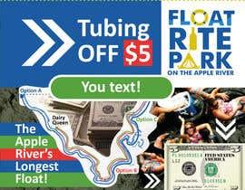 #13 untuk Design Simple $5 off Dropcard Coupon for Float Rite Park oleh ashanna