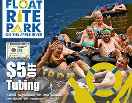 #7 untuk Design Simple $5 off Dropcard Coupon for Float Rite Park oleh primadanny