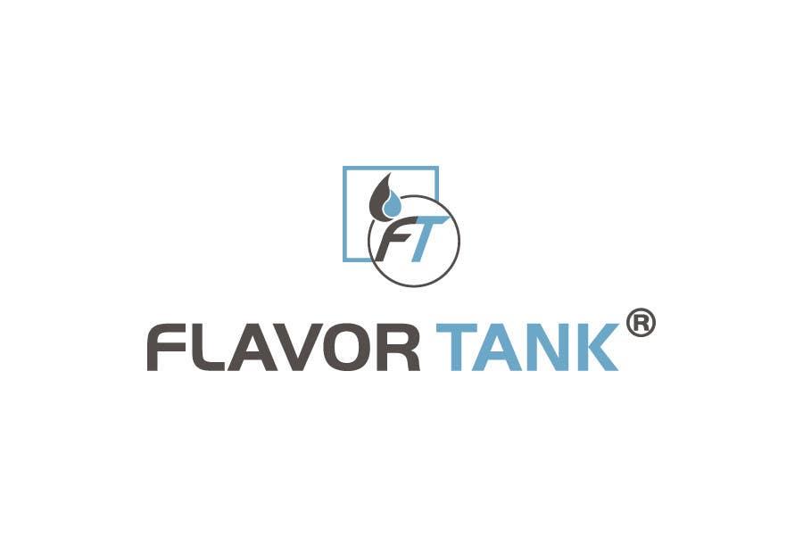Proposition n°                                        54                                      du concours                                         Design a Logo for Flavor Tank