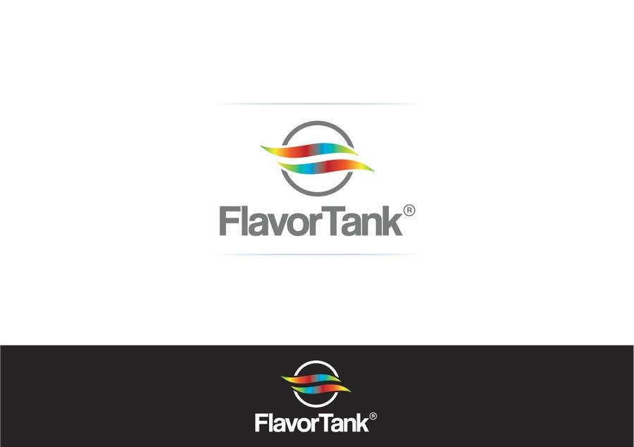 Proposition n°                                        18                                      du concours                                         Design a Logo for Flavor Tank