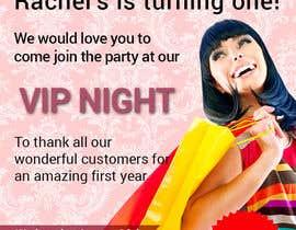#5 untuk Design a Flyer for clothing store 1st birthday invite oleh grafikguru