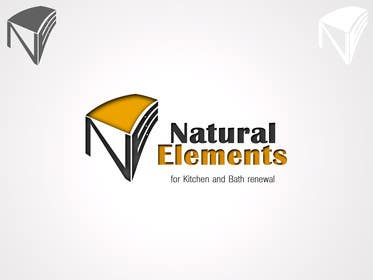 #75 for Design a Logo for Natural Elements for Kitchen and Bath Renewal by samslim