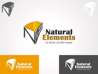 #87 for Design a Logo for Natural Elements for Kitchen and Bath Renewal by samslim