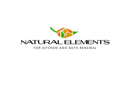 #30 for Design a Logo for Natural Elements for Kitchen and Bath Renewal by zetabyte