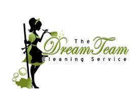 "#6 untuk Design a Logo for 'The Dream Team Cleaning Service"" oleh VirtualAtoZ"