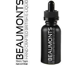 #98 untuk Design a label for an eliquid bottle oleh ICONICSQUARED
