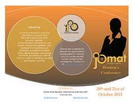 NatashaSoeiro tarafından Design a Brochure for a Women's Conference için no 3