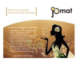 NatashaSoeiro tarafından Design a Brochure for a Women's Conference için no 6