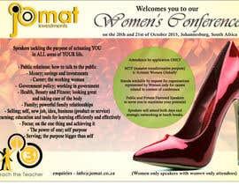 vivuwa tarafından Design a Brochure for a Women's Conference için no 1